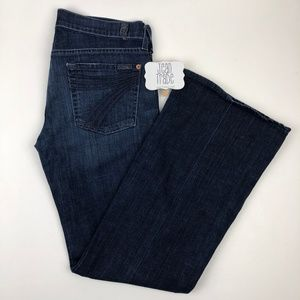 7 For All Mankind Jeans - 7 for all mankind dojo flare jeans 28x30.5